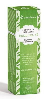 Masca exfolianta cu arbore de ceai, 50 ml, Esential'arôms [0]