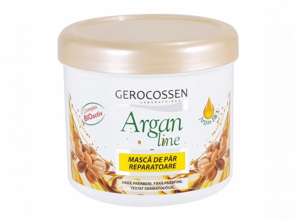 Masca pentru par uscat si deshidratat Argan Line 450 ml [0]