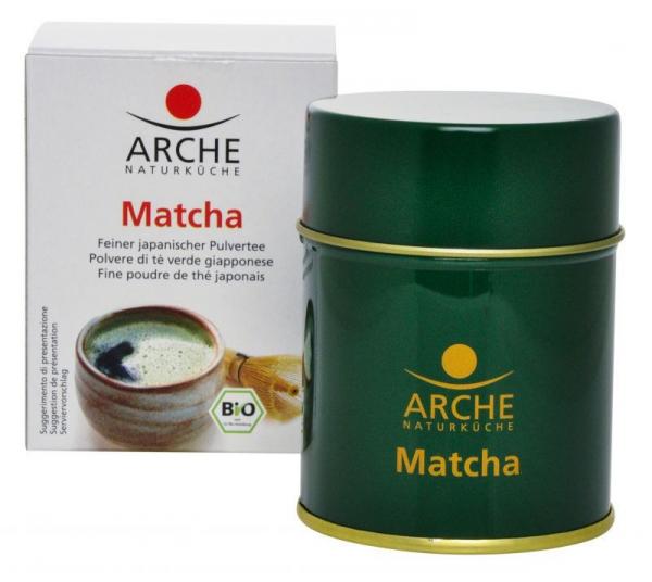 Matcha - Pulbere fina de ceai verde japonez bio, 30g Arche [0]