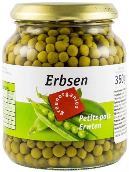 Mazare Bio, 350 g / 215 g GREEN ORGANICS [0]