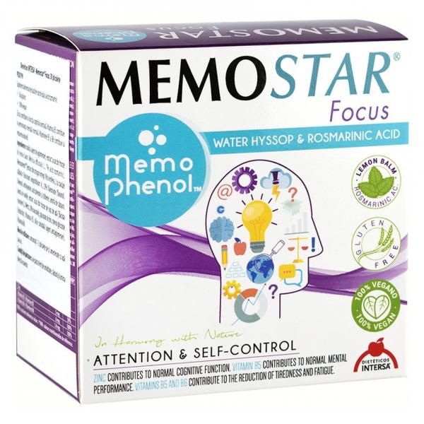 Memostar Focus, 30 pliculete Dieteticos Intersa [0]