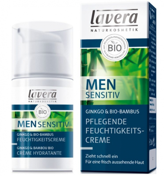 MEN Sensitiv - Crema hidratanta si hranitoare, 30 ml Lavera [0]