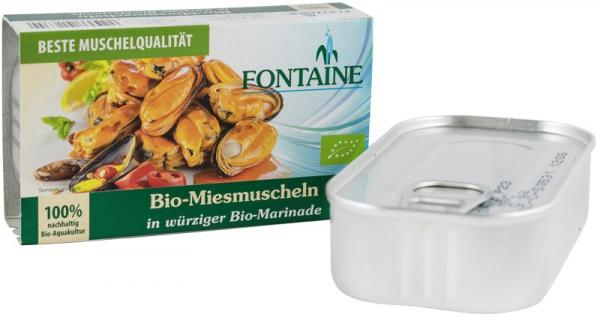 Midii Bio In Sos Marinade, 120G Fontaine [0]