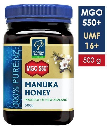 Miere de Manuka MGO 550+ UMF 16+ (500g) [0]