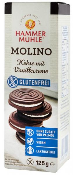 Molino, biscuiti cu crema de vanilie, 125 g HAMMER MUHLE [0]