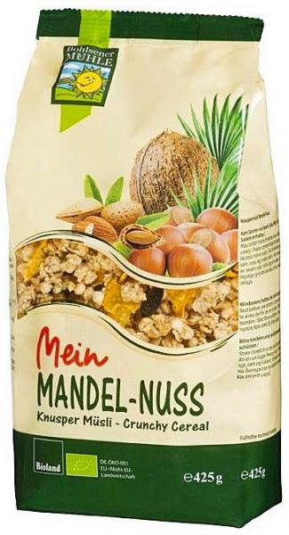 Musli Bio cu migdale si alune, 425 g Bohlsener Muhle [0]