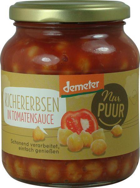 Naut Bio in sos de rosii, 350 g Nur PUUR [0]