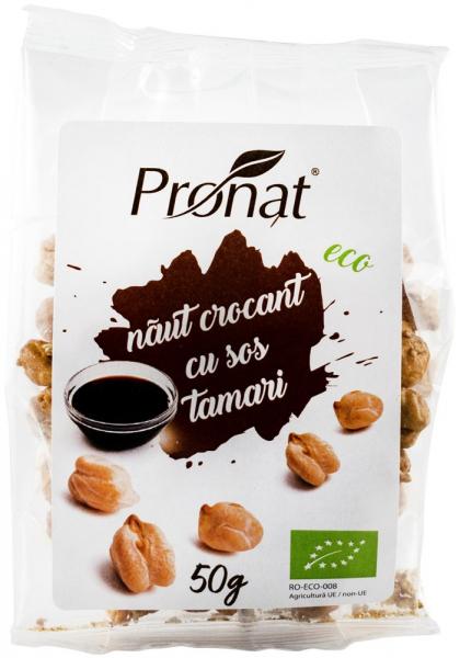 Naut Crocant Cu Sos Tamari, Bio, 50G [0]