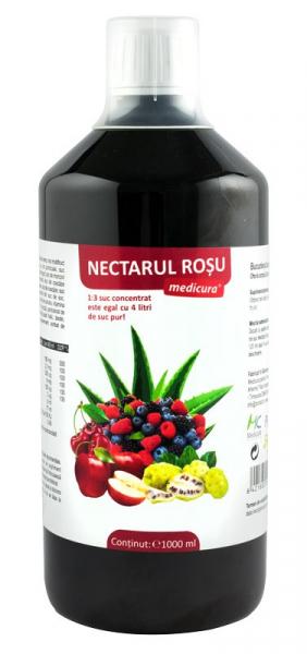 Nectarul Rosu, 1000 ml Medicura [0]