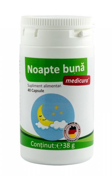 Noapte buna, 40 capsule Medicura [0]