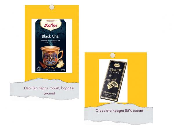 Pachet cu ceai negru si ciocolata neagra [0]