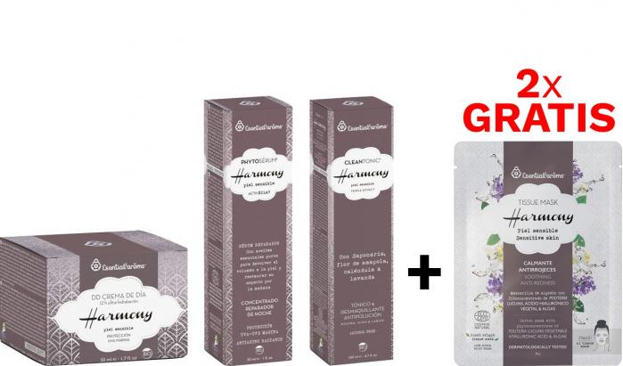 Pachetul Silver Ten Sensibil Crema + Ser + Tonic & Demachiant Esential'arms [0]