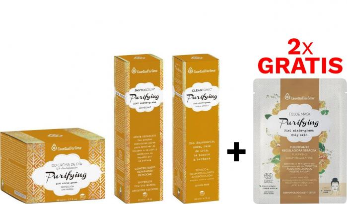 Pachetul Yellow Ten Gras Crema + Ser + Tonic & Demachiant Esential'arms [0]