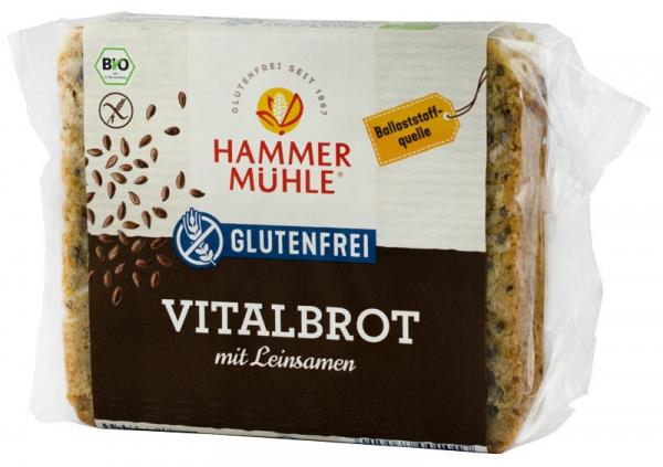Paine BIO Vital cu seminte de in, 250 g HAMMER MUHLE [0]