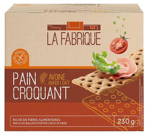 Paine crocanta cu ovaz, 230 g La Fabrique [0]