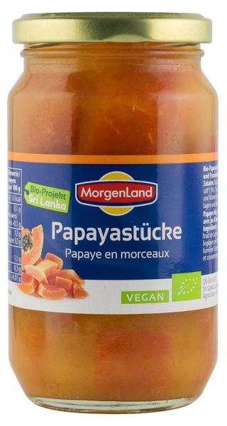 Papaya BIO in suc de ananas, 350 g MORGENLAND [0]