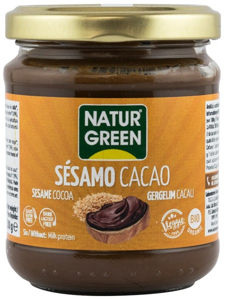 PASTA BIO DE SUSAN CU CACAO, 200G NATUR GREEN [0]