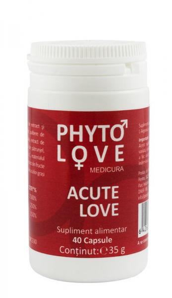 Phyto Love - activator erotic, 40 capsule Medicura [0]