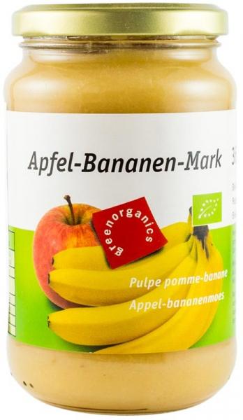 Piure BIO din pulpa de mere si banane, 360 g GREEN ORGANICS [0]