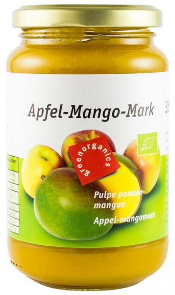 Piure BIO din pulpa de mere si mango, 360 g GREEN ORGANICS [0]