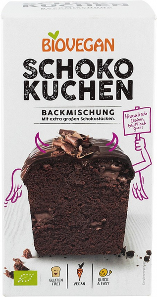 Premix bio pentru prajitura cu ciocolata, 380g Biovegan [0]