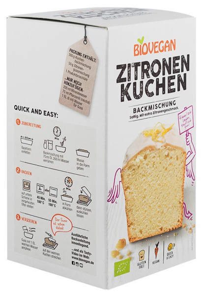 Premix bio Tort de lamaie Biovegan [1]