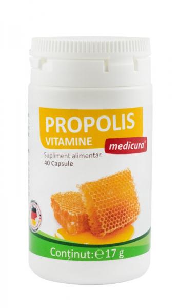 Propolis plus vitamine, 40 capsule  Medicura [0]