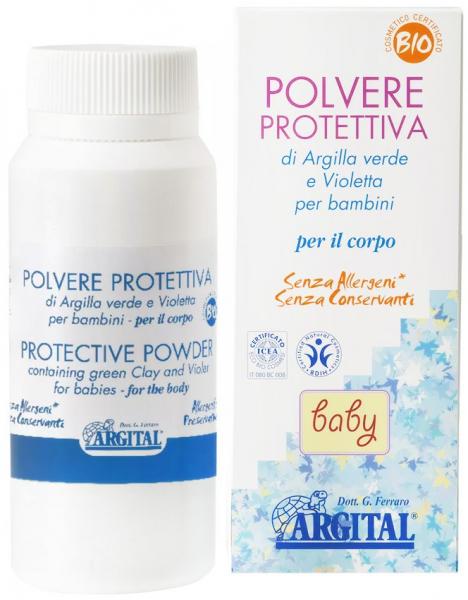 Pudra protectoare pentru copii, 60 g Argital [0]