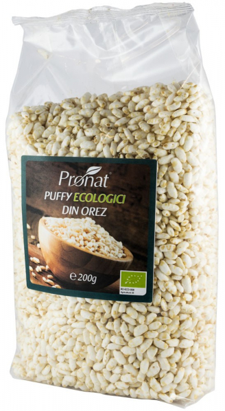 Puffy  bio din orez expandat natur, 200 g [0]