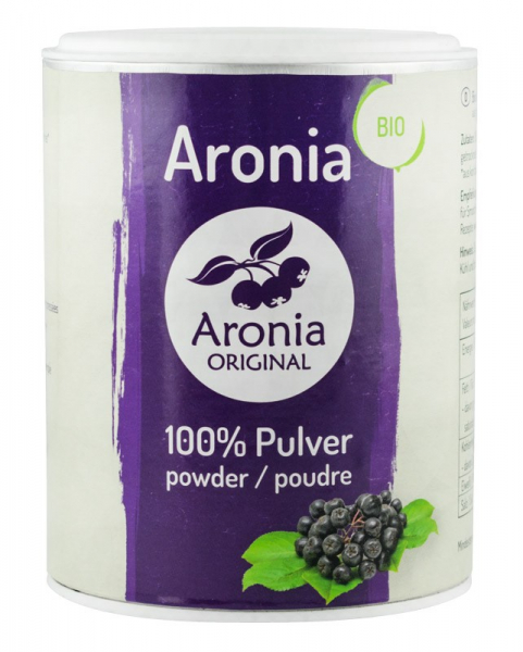 Pulbere BIO din aronia, 100 g + Retete Aronia Original [0]