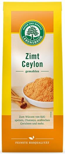 Pulbere de scortisoara BIO de Ceylon, 50 g LEBENSBAUM [0]