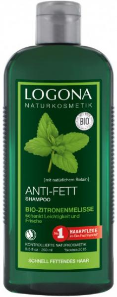 Sampon bio anti grasime cu roinita, 250 ml Logona [0]