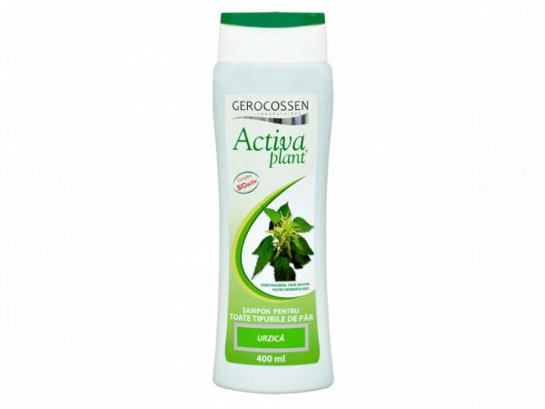 Sampon cu urzica Activa Plant 400 ml [0]