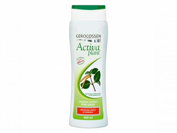 Sampon pentru par gras Activa Plant 400 ml [0]