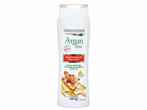 Sampon pentru par vopsit Argan Line 400 ml [0]