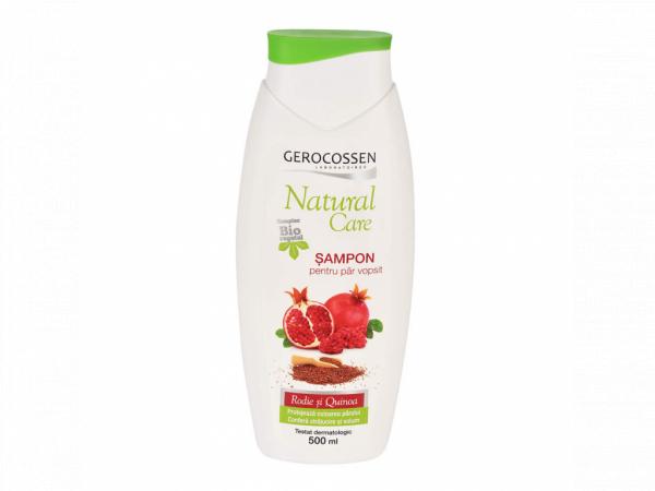 Sampon pentru par vopsit cu Rodie si Quinoa Natural Care 500 ml [0]