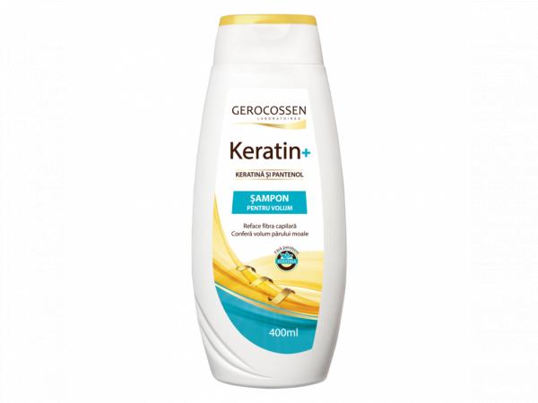Sampon pentru volum cu keratina si pantenol - Keratin+ 400 ml [0]