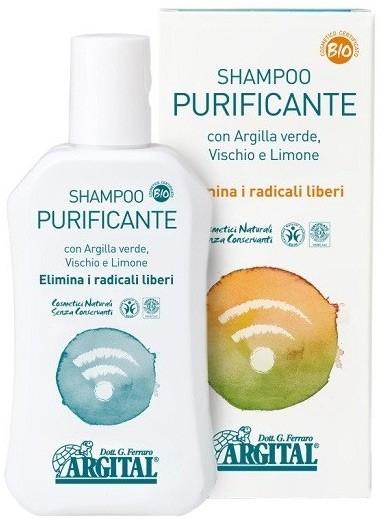 Sampon purificator impotriva radicalilor liberi, 250 ml Argital [0]