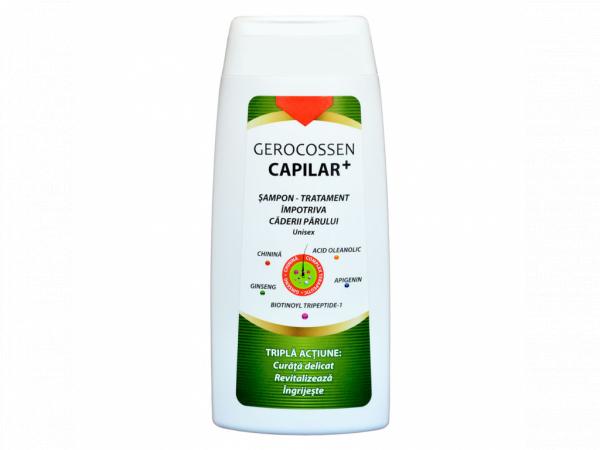 Sampon tratament impotriva caderii parului Capilar+ 275 ml [0]