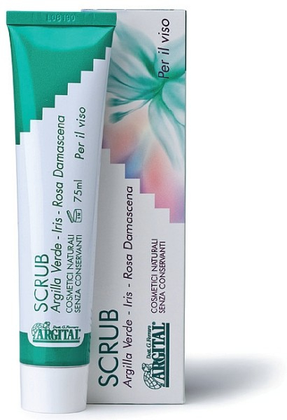 Scrub masca faciala BIO, 75 ml Argital [0]