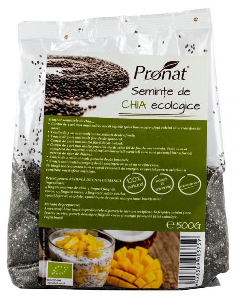 Seminte de Chia bio, 500 g [0]