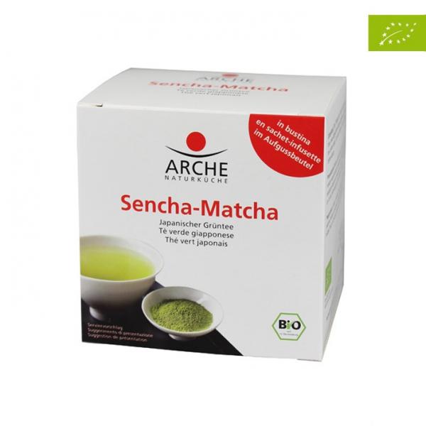 Sencha Matcha - Ceai verde japonez bio, 15g Arche [0]