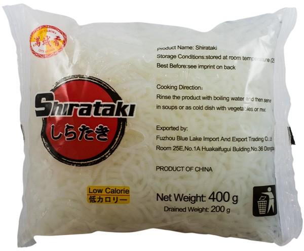 SHIRATAKI - Taitei fini din faina de konjac, 400 g [0]