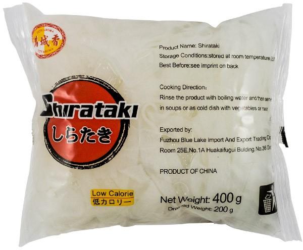 SHIRATAKI - Taitei lati (FINI) din faina de konjac, 400 g [0]