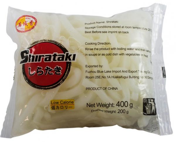 SHIRATAKI - Taitei lati (Udon) din faina de konjac, 400 g [0]