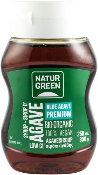 SIROP BIO DE AGAVE, 250 ML NATUR GREEN [0]