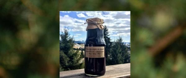 Sirop de coacaze negre cu menta 300 ml [0]