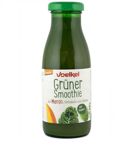Smoothie verde bio cu mango, varza kale si spanac, 250 ml VOELKEL [0]