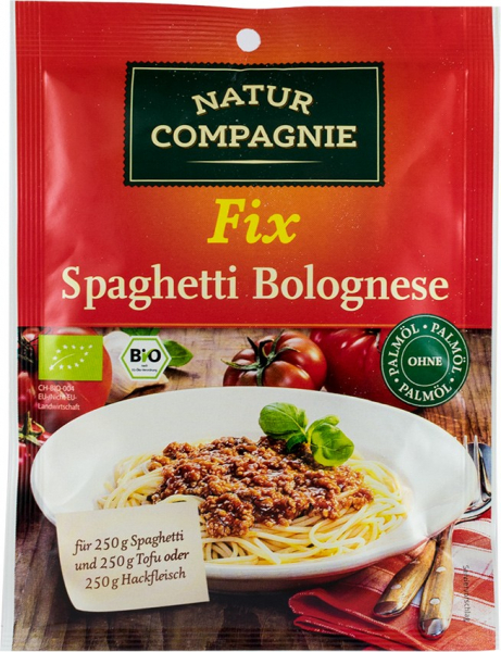 Sos bio pentru Spaghette Bolognese, 40 g NATUR COMPAGNIE [0]