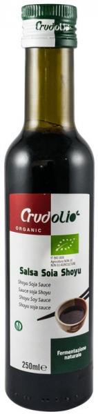 Sos de soia Bio Shoyu 250 ml Crudolio [1]